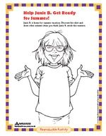 Random House Junie B Jones Activities School projects