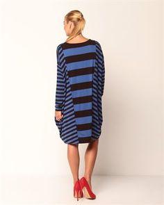 DKNY Striped Dress