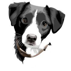 Digital Art File of Your Pet Animal Drawings, Art Drawings, Pop Art, Vintage Horror, Art File, Deviant Art, Pet Portraits, Digital Illustration, Vector Art