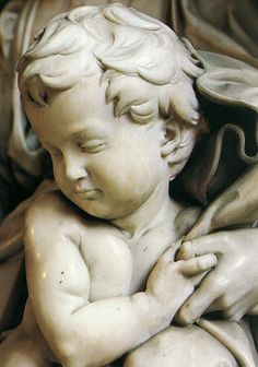 Madonna and Child [detail] by Michelangelo, Marble   #TuscanyAgriturismoGiratola