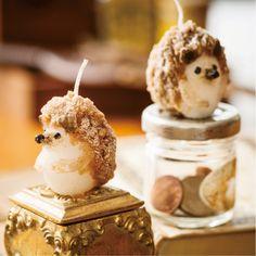 hedgehog candles