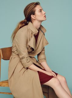 MARCH: The iconic trench received a modern rework. #marcopolo #followyournature #trenchcoat #fashion
