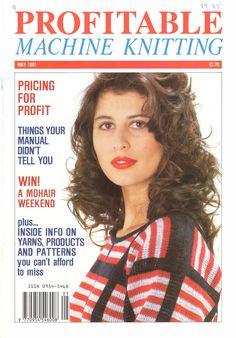 Profitable Machine Knitting Magazine 1991.05 Free PDF Download 300dpi ClearScan OCR