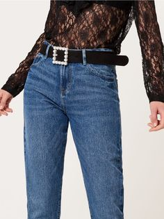 Jeansy mom jeans AFTER HOURS, MOHITO, RP451-95J