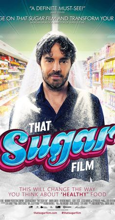Directed by Damon Gameau. With Damon Gameau, Hugh Jackman, Richard Davies, Skylar Delphinus. Damon Gameau embarks on an experiment to document the effects of a high sugar diet on a healthy body. No Sugar Diet, Sugar Detox, Sugar Movie, Low Carb Paleo, Keto Fat, Paleo Diet, Vida Low Carb, Sugar Book, Lifestyle