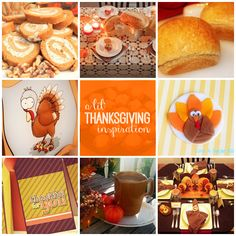 A Lil' Thanksgiving Inspiration :: Recipes, Tablescapes and a Free Download by Piggy Bank Parties