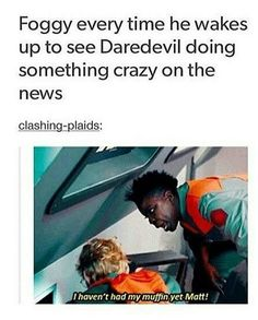 I loved the episode the gif is from! And also daredevil so yay! Dc Movies, Marvel Movies, Marvel Characters, The Maxx, Defenders Marvel, Marvel Avengers, Marvel Funny, Daredevil, Punisher