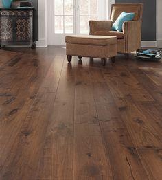 """About Maison 7"""" wide plank flooring hardwood Bastille Tawny"""