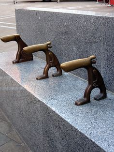 Day 211 Brass Dogs by Alastair Montgomery, via Flickr