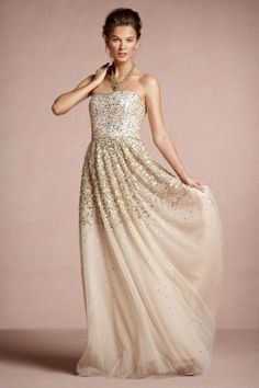Gorgeous Gold Dress For Wedding
