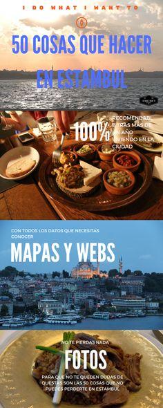 50 cosas que hacer en Estambul. Viajar por Turquía. Pasión por los viajes en Asia