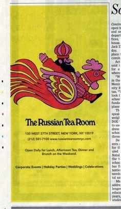 2011 newsprint ad based on 1970s illustration by Milton Glaser.
