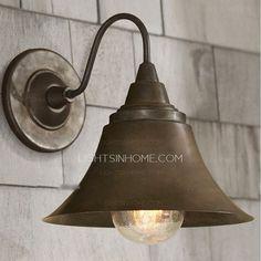 Outdoor Wall Sconce Lighting Fixtures E26/E27 Wrought Iron