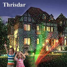 Cheap christmas laser light projector, Buy Quality christmas laser lights directly from China christmas laser Suppliers: Thrisdar Christmas Laser Light Projector Waterproof Star Projector Show Moving Red Green Landscape Spotlight For Xmas Hallowen Green Christmas Lights, Laser Christmas Lights, Decorating With Christmas Lights, Holiday Lights, Christmas Fairy, Christmas Projector, Landscape Lighting, Tree Lighting, Halloween
