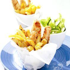 Fish en chips, lekker genieten en helemaal #WeightWatchers proof! #WWrecept