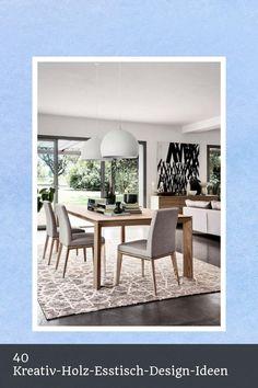 Fine 40 Kreativ-Holz-Esstisch-Design-Ideen -  #40 #Creative #Design #Dining #Ideas #Permalink #Permalinkto:40CreativeWoodenDiningTablesDesignIdeas #Tables #To #Wooden Esstisch Design, Dining Chairs, Dining Table, Baby Room Design, Creative Design, Tables, Cool Stuff, Furniture, Ideas