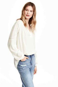 Bluză creponată   H&M