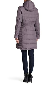 Image of Michael Kors Hooded Down & Feather Quilted Coat Down Feather, Nordstrom Rack, Hoods, Choices, Winter Jackets, Michael Kors, Coat, Image, Fashion