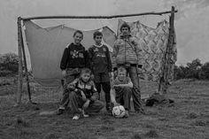 The World's best homemade goalposts & net.