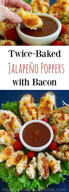 Easy Appetizer Recipe for Twice-Baked Jalapeño Poppers with Bacon - using Chipotle Sauce as a dip is a healthy and hearty way to add some spice to this Mexican inspired dish. Ad It's time to with some amazing football party appetizers. by valerie Mini Appetizers, Easy Appetizer Recipes, Supper Recipes, Side Dish Recipes, Picky Toddler Meals, Toddler Dinners, Toddler Lunches, Baby Food Recipes, Snack Recipes