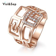 Find More Rings Information about Visisap China style Rose Gold Color Rings For Women men fashion Jewelry vintage ring luxury Bijoux top quality VSR153,High Quality fashion rings for women,China rings for women Suppliers, Cheap ring for from Visisap Jewellery Store on Aliexpress.com