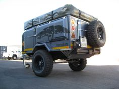 Metalian Maxi 4×4 Off Road Camping Trailers11