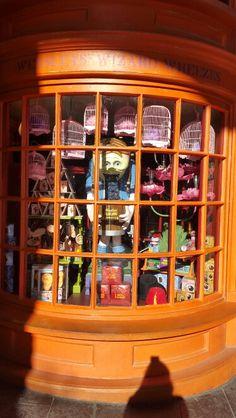 Weasley's Products Wizarding World of Harry Potter. Universal Studios Resorts. Orlando, Fl.