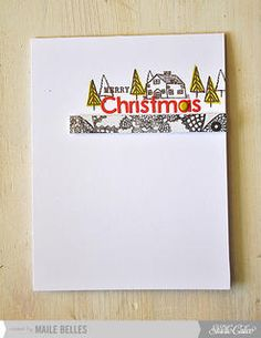 Merry Christmas *Card Kit Only* by mbelles at Studio Calico