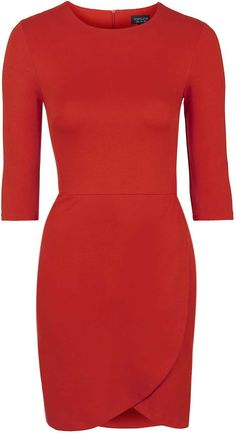 Womens tomato wrap dress from Topshop - £24 at ClothingByColour.com