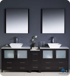 vessel sinks vanity cabinets - Google Search