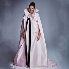 Stunning Model Wows In Revealing Angel Outfit – ViralTab Tot Hom, Yves Saint Laurent, Angel Outfit, Tv Presenters, Floral, Duster Coat, Instagram, Outfits, Dresses