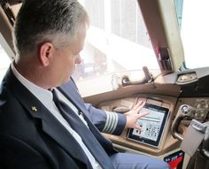 """A couple of years ago, American Airlines swapped out its pilots' """"flight bag"""" for iPads loaded with the terminal charts and other reference materials they're required to carry. Losing the 35 lbs of materials for a tablet (some 8,000 of them) was a good tradeoff, but tonight an apparent glitch is grounding some of the airline's flights."""