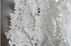 off white lace fabric, crocheted lace fabric, 3D floral lace, bridal venise lace fabric - #dollunderware - off white lace fabric, crocheted lace fabric, hollowed out florals lace, bridal venise lace fabric 3D standing out florals, vivid and special. Sound quality of venice lace, exquisite embroideries, very gorgeous design. Suit for dress, bridal gown ... ... ======MATERIAL====== mix fabric =====MEASUREMENT=====  110cm(width) X 90cm, the fixed width is 110cm =======COLOR======== off white… Diy Embroidery Lace, Embroidered Lace Fabric, Crocheted Lace, Beaded Lace, White Lace Fabric, Bridal Lace Fabric, Wedding Fabric, Retro Floral, Floral Lace