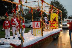 Babes in Toyland Christmas Float 2009