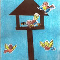 Madáretetős kép Disney Cartoon Characters, Disney Cartoons, Feeding Birds In Winter, Winter Crafts For Kids, Halloween Crafts, Bird Feeders, Techno, Preschool, Symbols