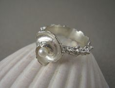 Seashell ring | accessories | Pinterest | Seashells and Rings