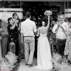 Saída doa noivos. A gente cuida de tudo.  #assessoria #cerimonial