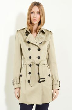 What's a trip to the likes of Dorset and Cornwall without a quintessential Burberry trench?
