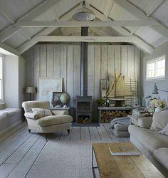 The Oyster Catcher Cornwall, rustic beach interiors, coastal… – Stone House Summer House Interiors, Cabin Interiors, Office Interiors, Coastal Cottage, Coastal Living, Cozy Cottage, Cottage House, Backyard Cottage, Coastal Farmhouse