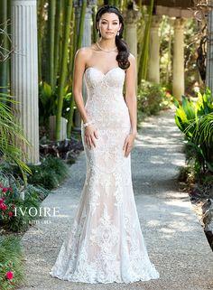 Beautiful ♡ Wedding Dresses | Bridal Gowns | 2016 IVOIRE NEW YORK - Samantha