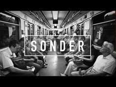 sonder  n. the realization that each random passerby is living a life as vivid and complex as your own.
