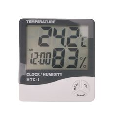 Free shipping, large LCD LED screen thermometer, home LED temperature and humidity meter, household LED digital thermometer