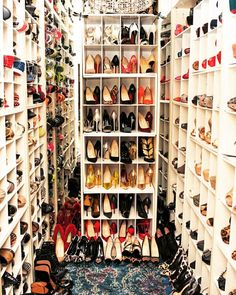 Shoe Heaven! #Glamzam #london #tuesdayshoesday #shoeheaven #shoecloset #shoes #fashion #ootd #shoeaholic #partydress #party #nightout #sandals #stilettos