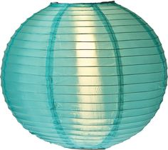 Amazon.com : Luna Bazaar Round Nylon Outdoor Paper Lantern for Home Decor and Wedding Decorations (14-Inch, Teal) : Decorative Candle Lanterns : Patio, Lawn & Garden