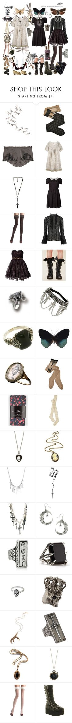 """Perhaps one day, my wish will come true & I'll turn into a pretty butterfly"" by kevlartunga ❤ liked on Polyvore featuring Umbra, Trasparenze, Carine Gilson, Tarina Tarantino, Via Spiga, Oscar de la Renta, Rare Opulence, Free People, Miss Selfridge and Tricot Comme des Garçons"