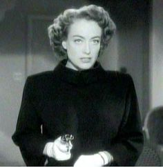 """Joan Crawford from """"Possessed,"""" 1947. It was a rare film noir with a female protagonist and Joan delivers again, and again, and again. Take that Van Heflin."""