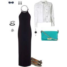 Designer Clothes, Shoes & Bags for Women Black Maxi, David Yurman, Salvatore Ferragamo, Polyvore Fashion, Burberry, Classy, Shoe Bag, Bags, Stuff To Buy
