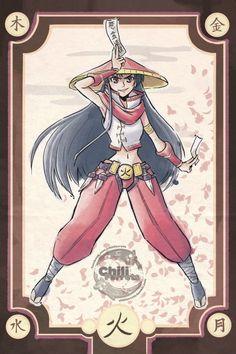 Samurai Sailor Moon Fan Art http://geekxgirls.com/article.php?ID=6546
