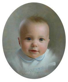 Oil Portrait of Davidson - via @Craftsy