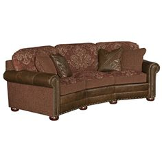 Buy Southwestern chairs, Ottoman and Sofas at Lone Star Western Decor, your sources for Southwestern Sofas. Western Crafts, Western Decor, Rustic Decor, Furniture Showroom, Home Furniture, Southwestern Chairs, Curved Couch, Rustic Sofa, Settee Sofa